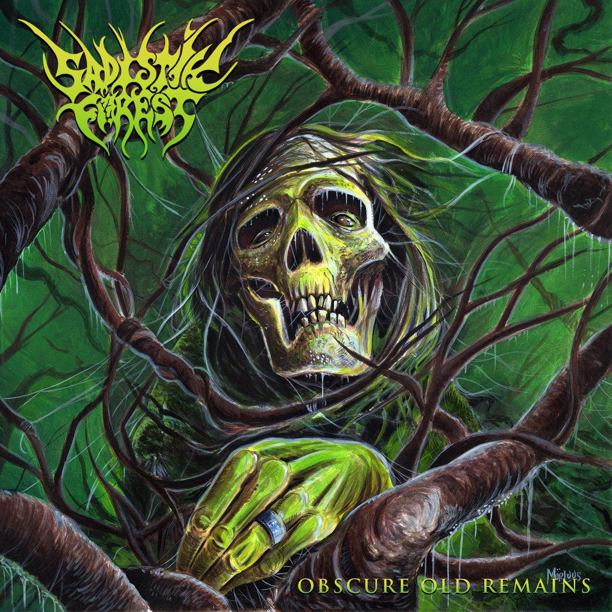 Sadistik Forest Obscure Old Remains Album Cover Artwork