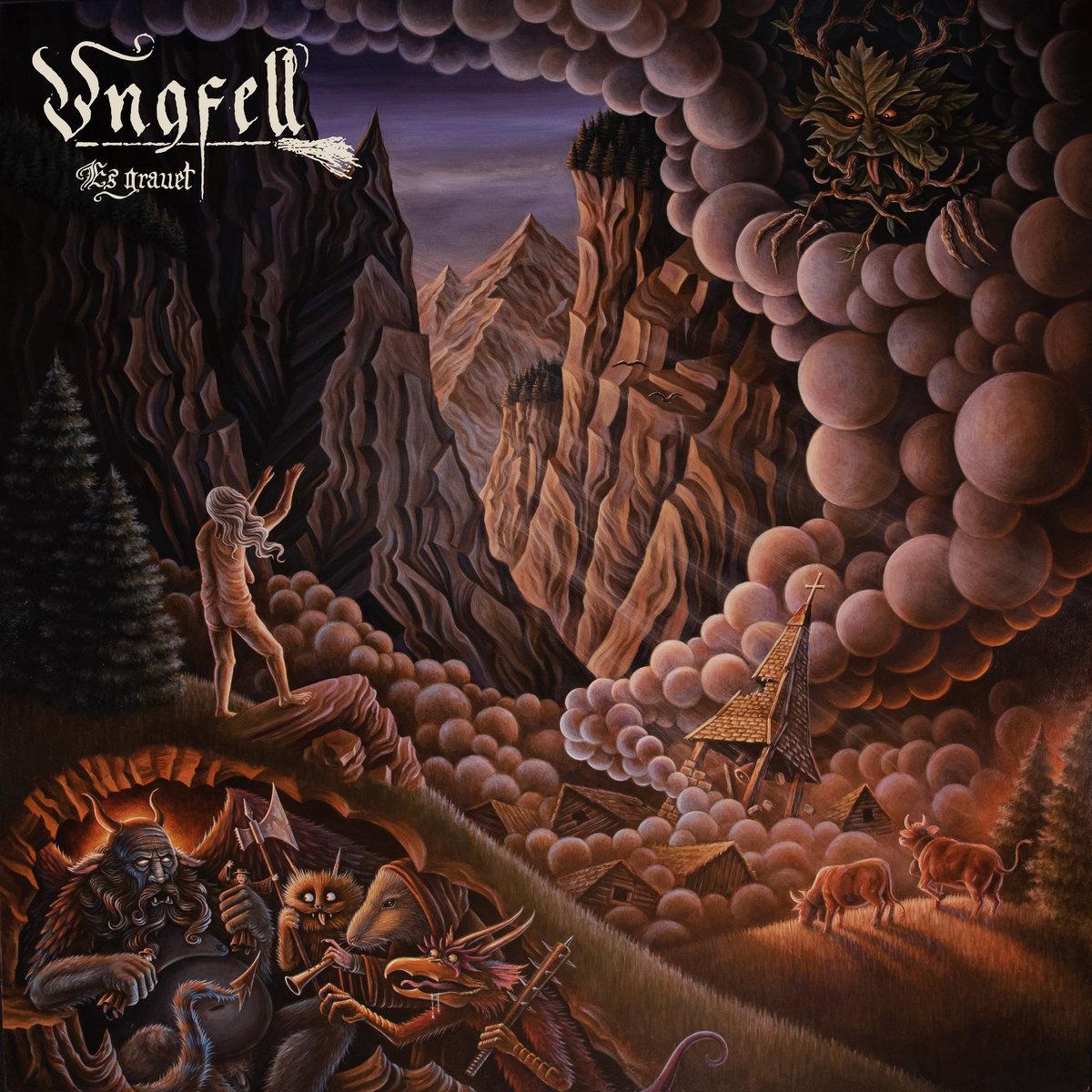 Ungfell Es grauet Album Cover Artwork