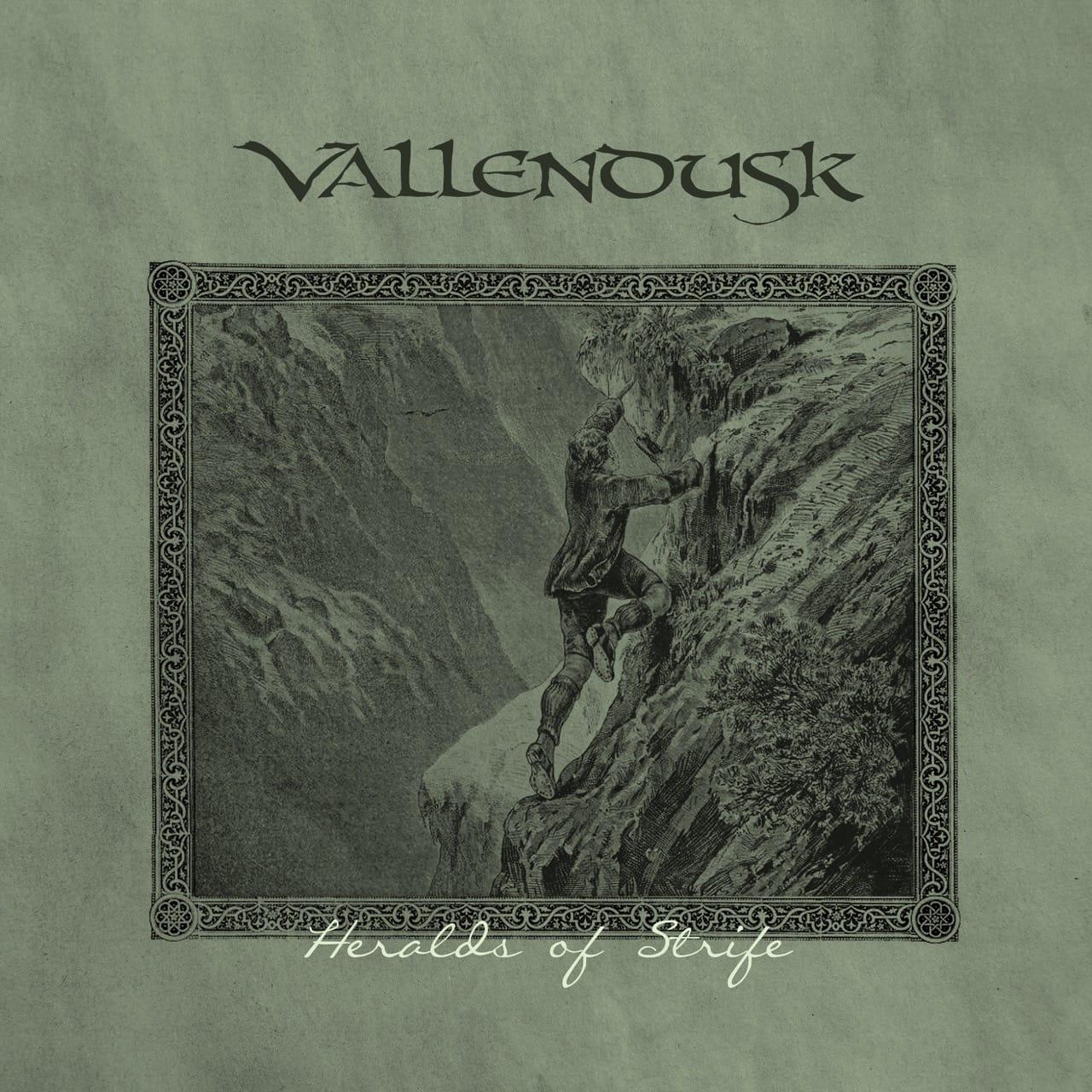 Vallendusk Heralds of Strife Album Cover Artwork