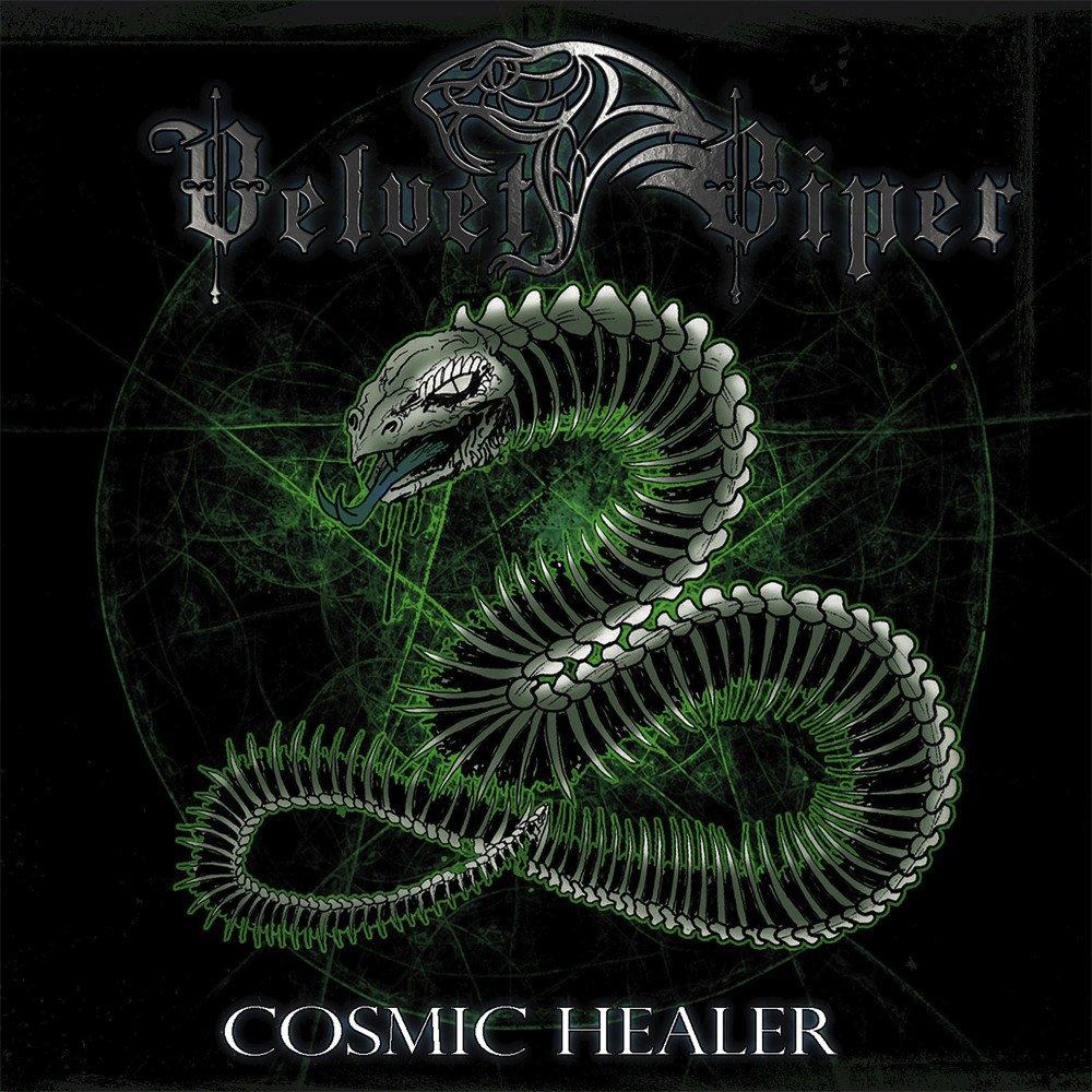 Velvet Viper Cosmic Healer Album Cover Artwork