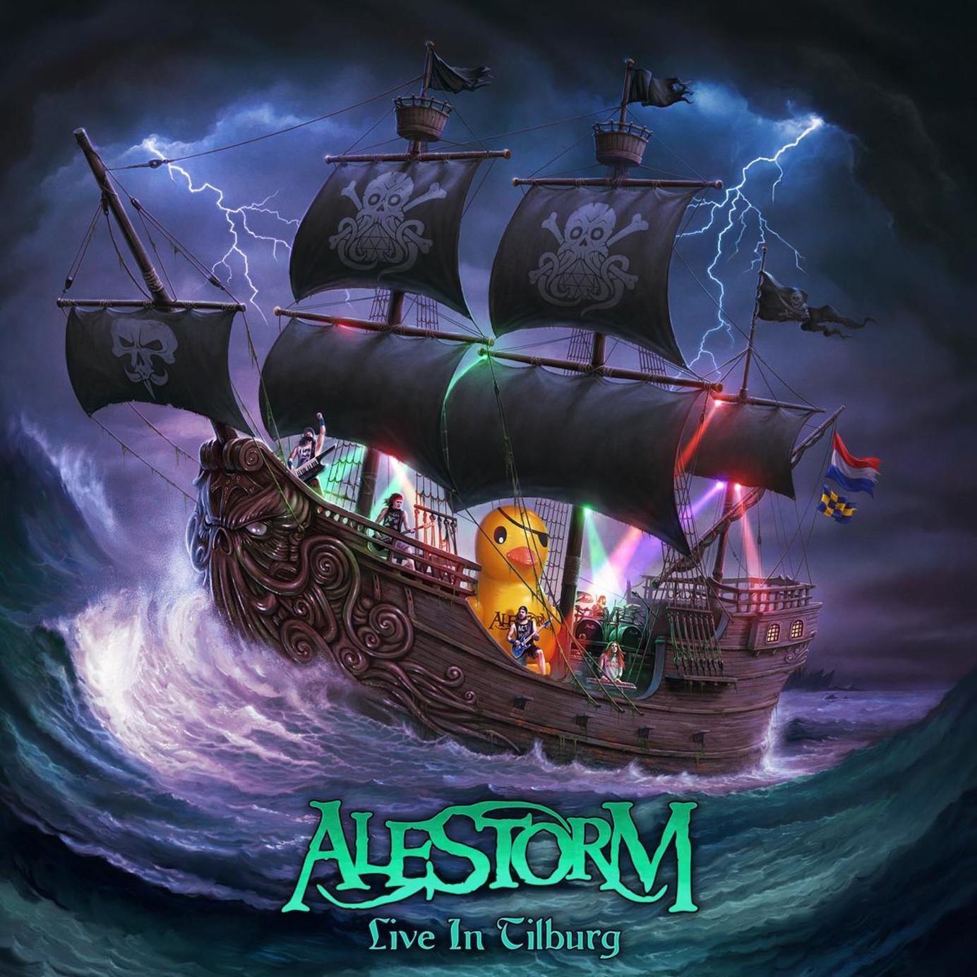 ALESTORM : les détails du nouvel album live Live In Tilburg