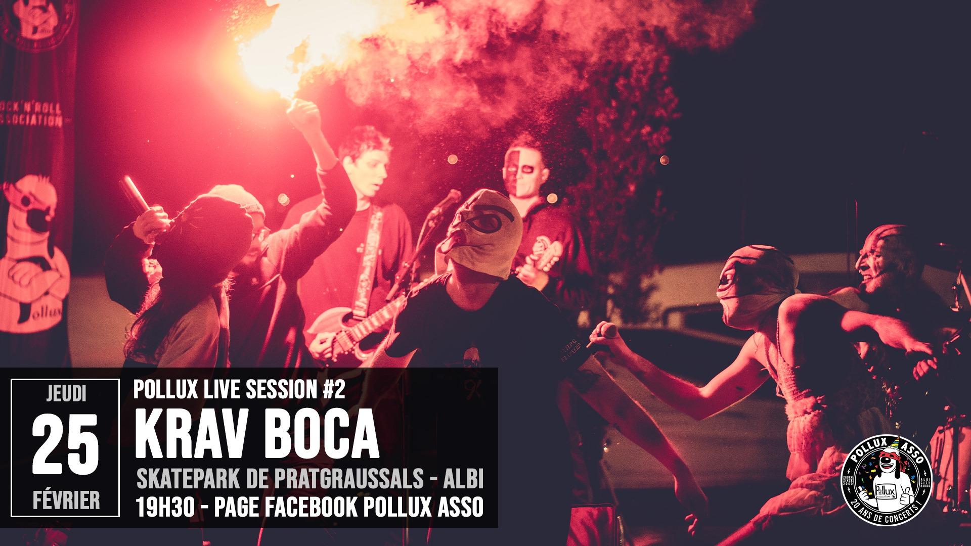 KRAV BOCA proposera un concert en streaming ce jeudi soir