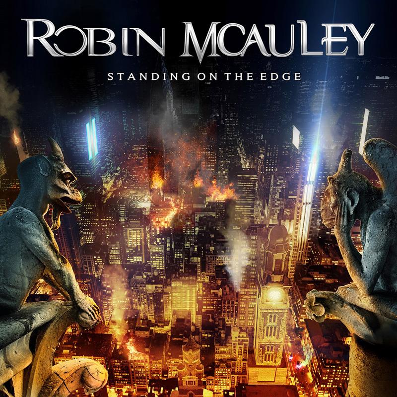 Robin McAuley (BLACK SWAN) dévoile les détails de son nouvel album solo Standing On The Edge et le clip vidéo de la chanson titre