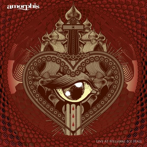 Amorphis Live At Helsinski Ice Hall Album Cover Art