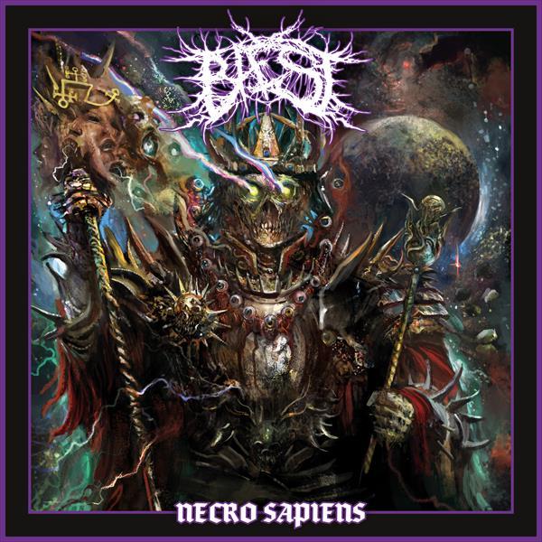 Baest Necro Sapiens Artwork Cover
