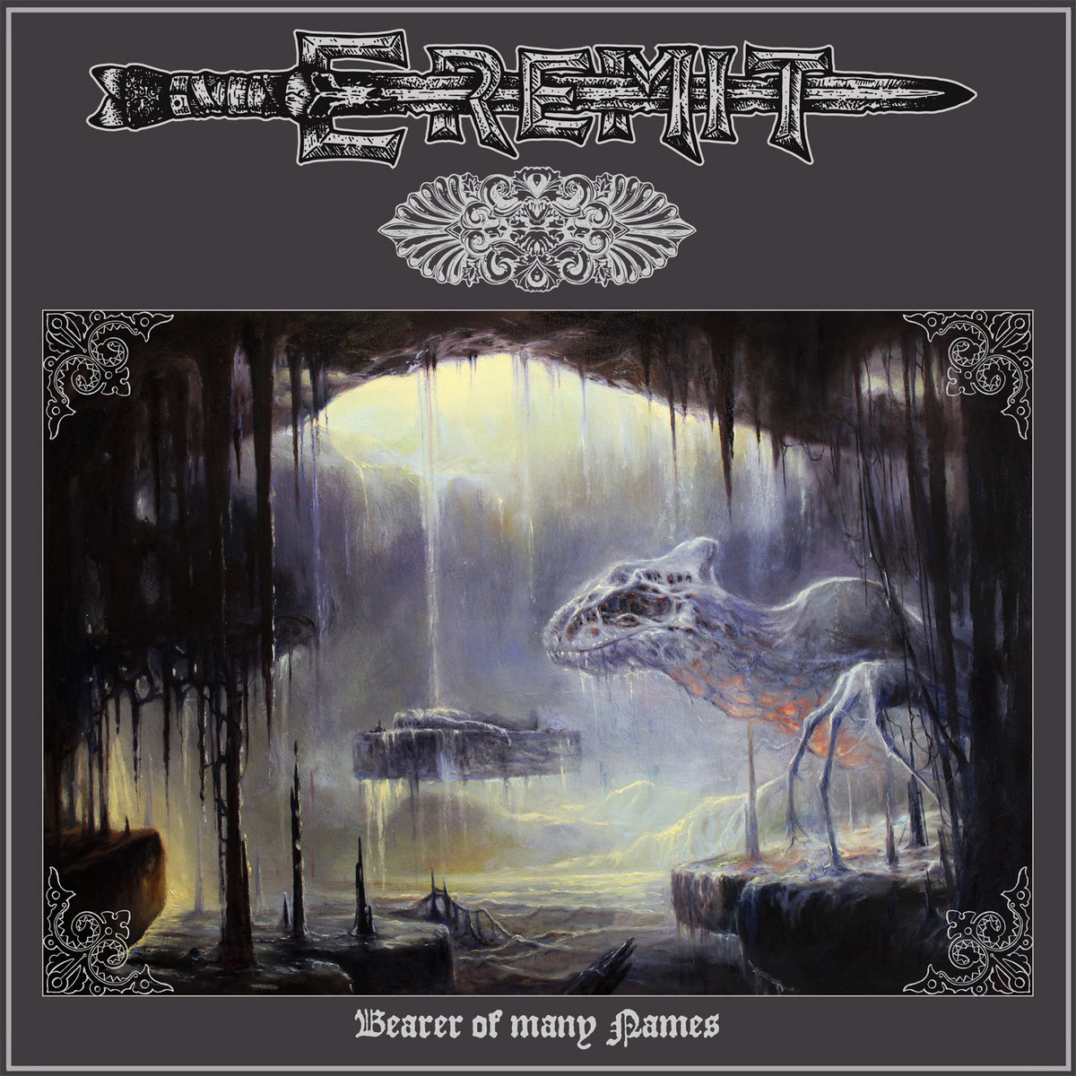 Bearer of Many Names Eremit Album Cover Artwork