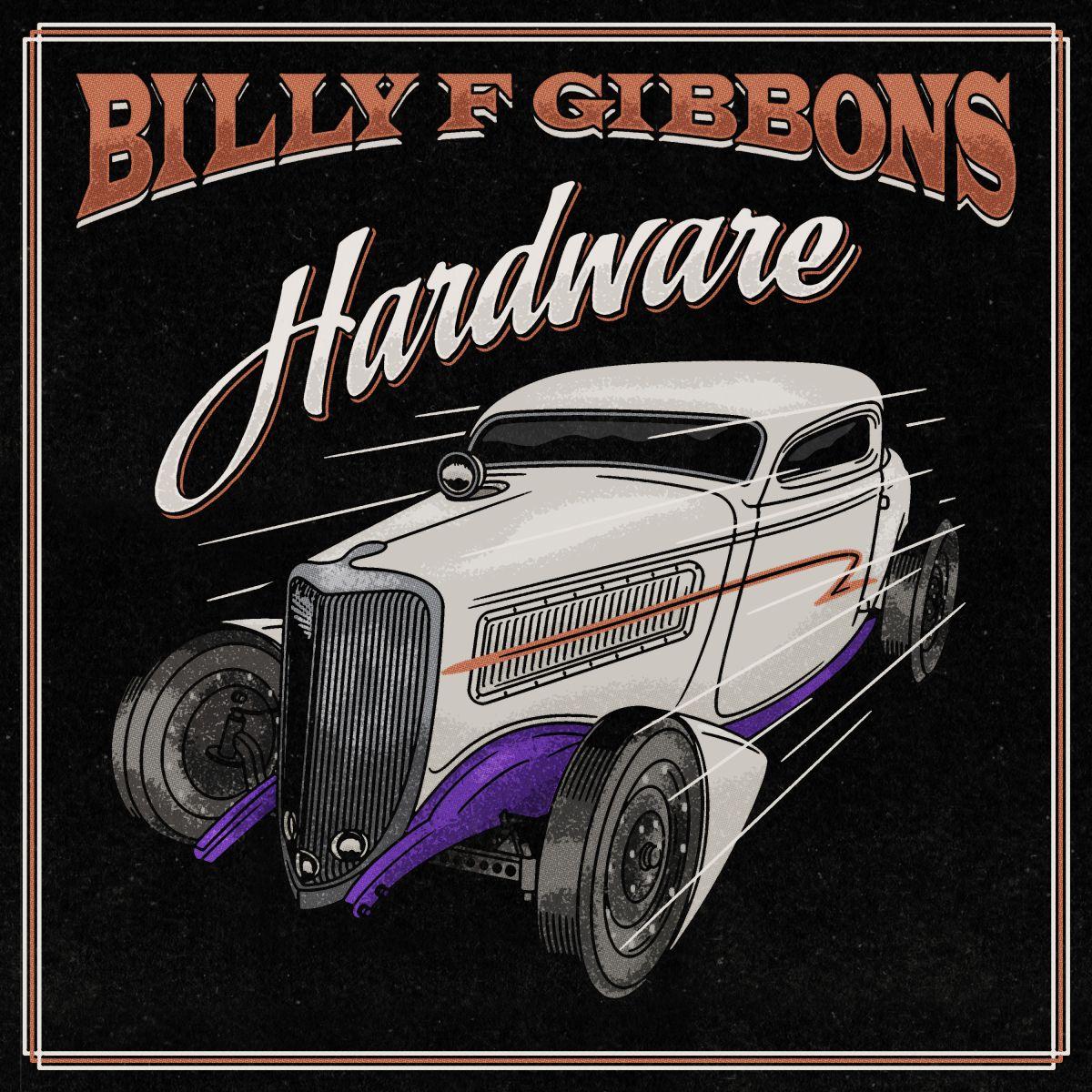 Billy Gibbons Hardware Album Cover Artwork