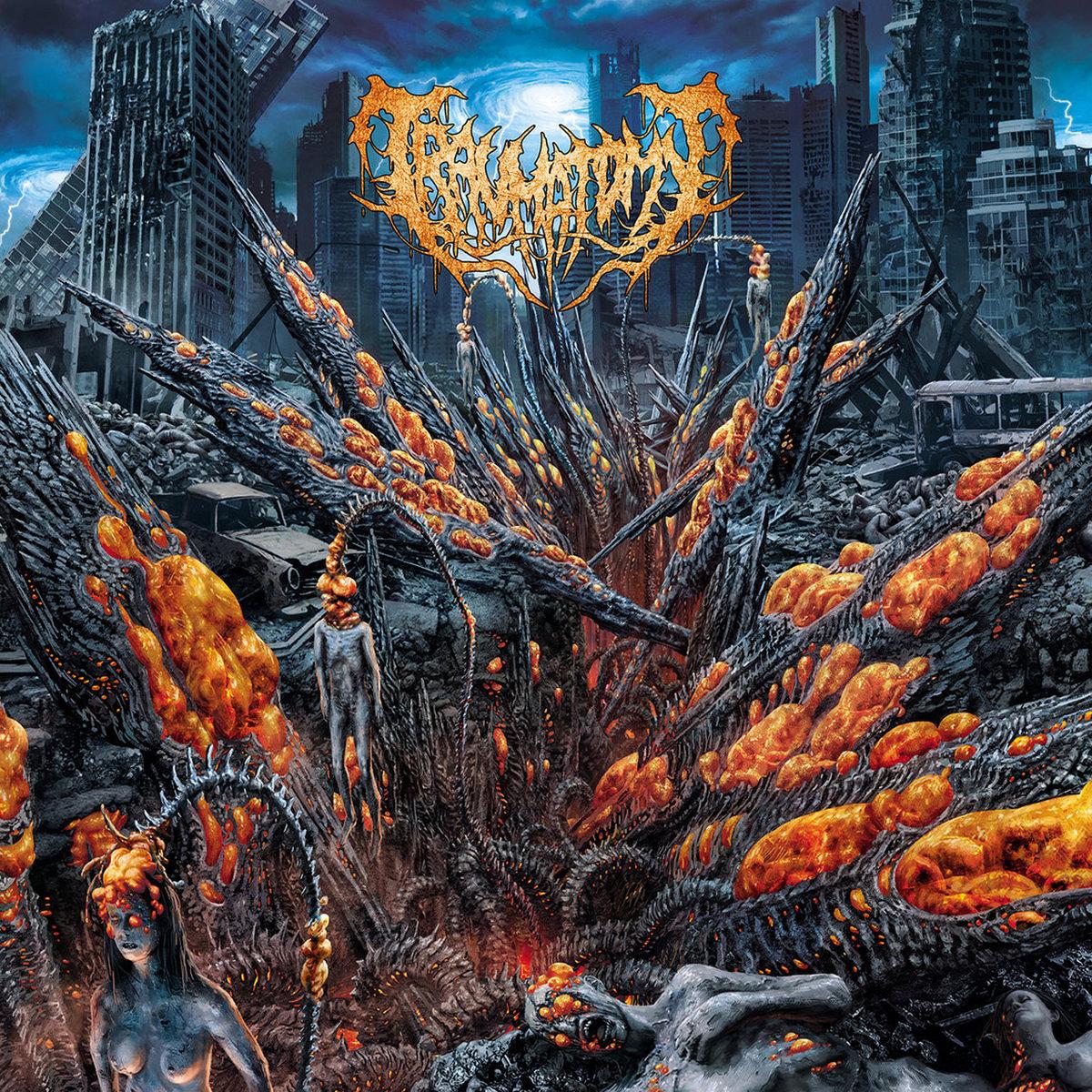 Extirpation Paradigms Traumatomy Album Cover Artwork