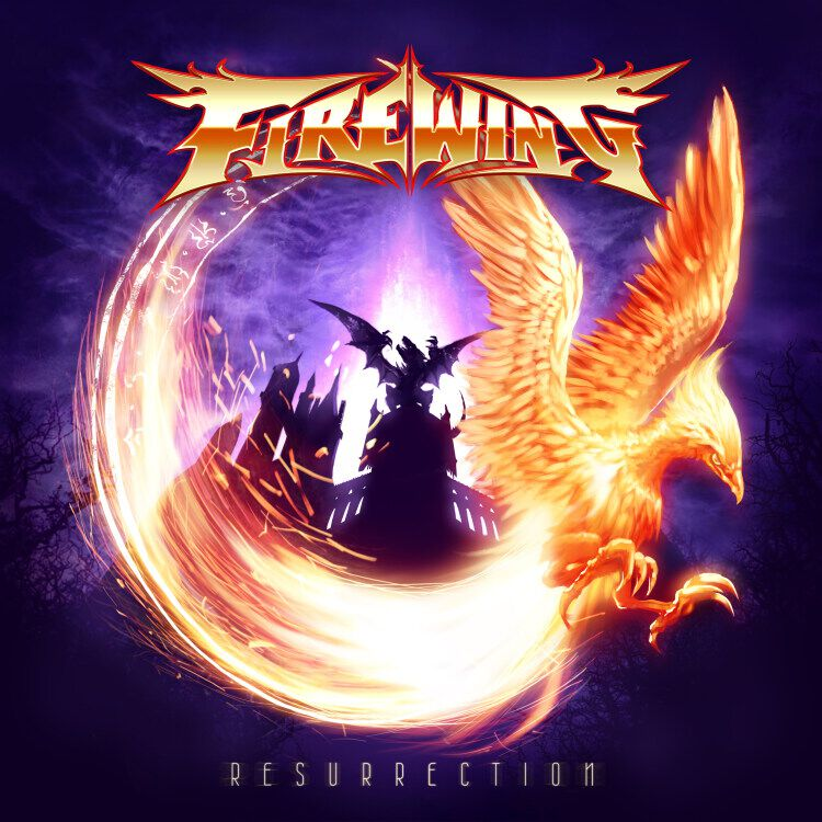 FireWing Resurrection Album Cover Artwork