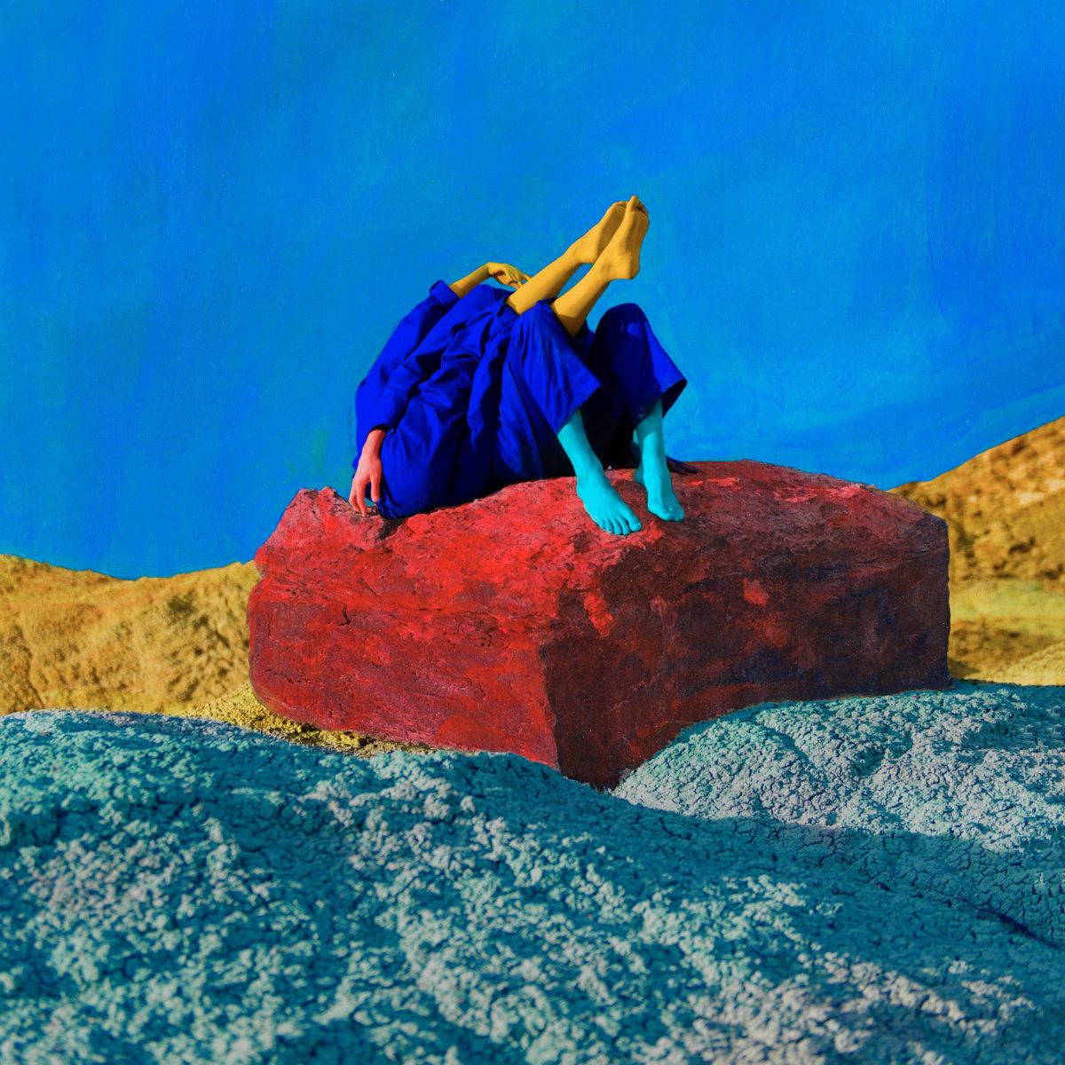 Grey Aura Zwart Vierkant Album Cover Artwork