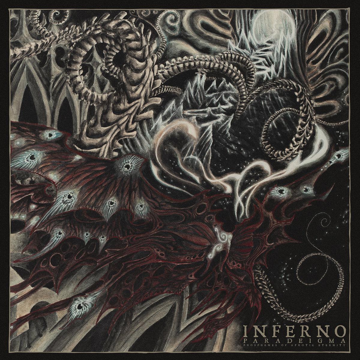 Inferno PARADEIGMA (Phosphenes of Aphotic Eternity) Album Cover Artwork