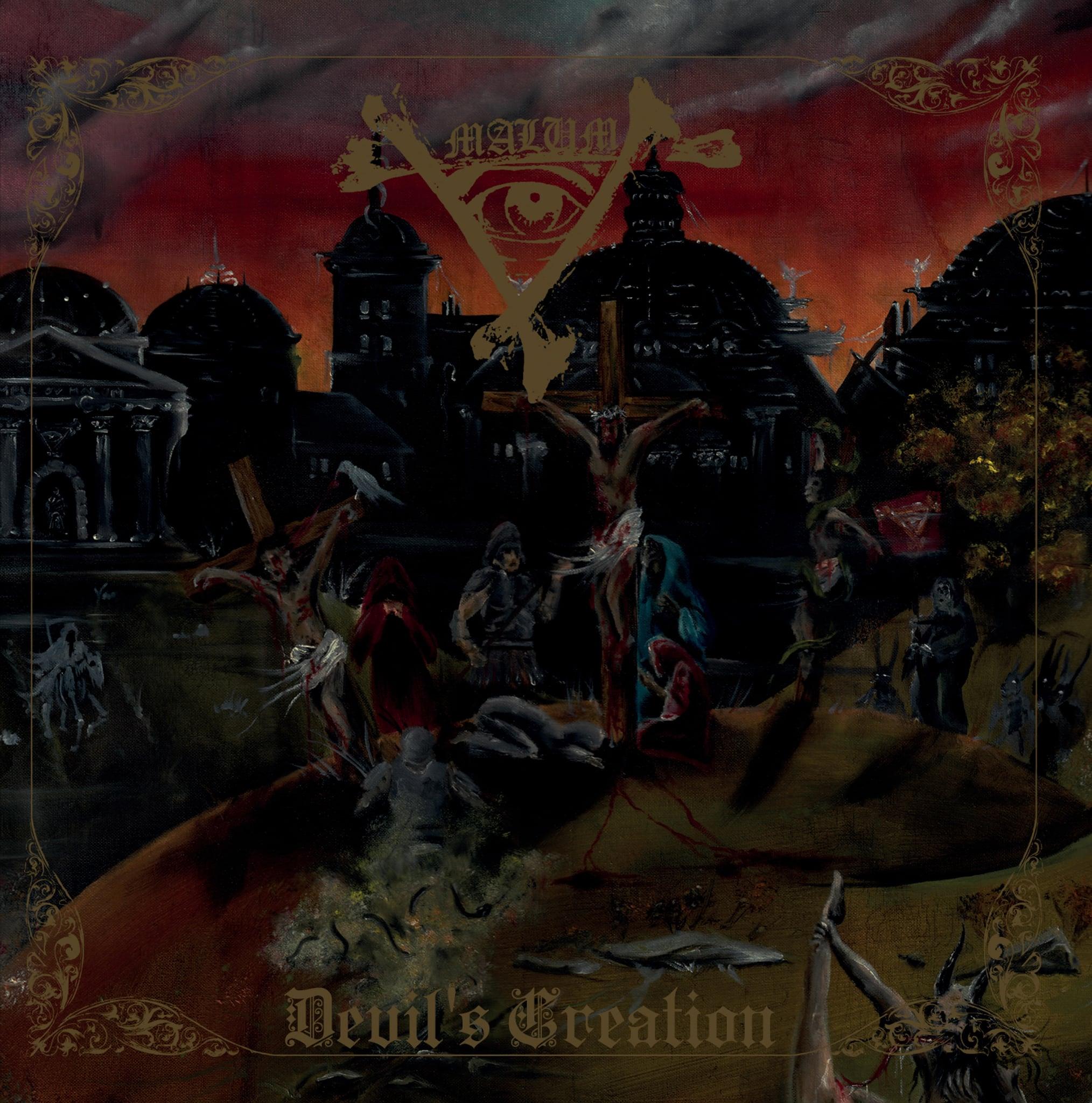 Malum Devil s Creation Album Cover Artwork