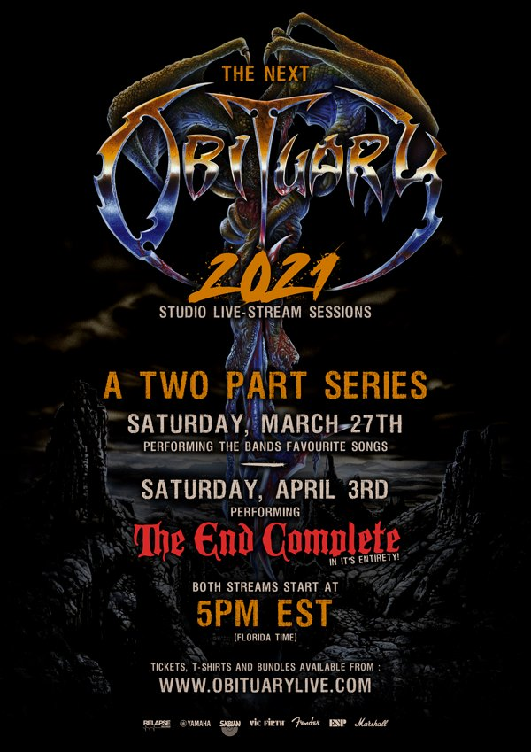 Obituary live streaming