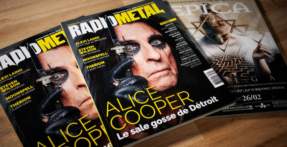 LE MAGAZINE RADIO METAL NUMERO 2 EST DISPONIBLE !