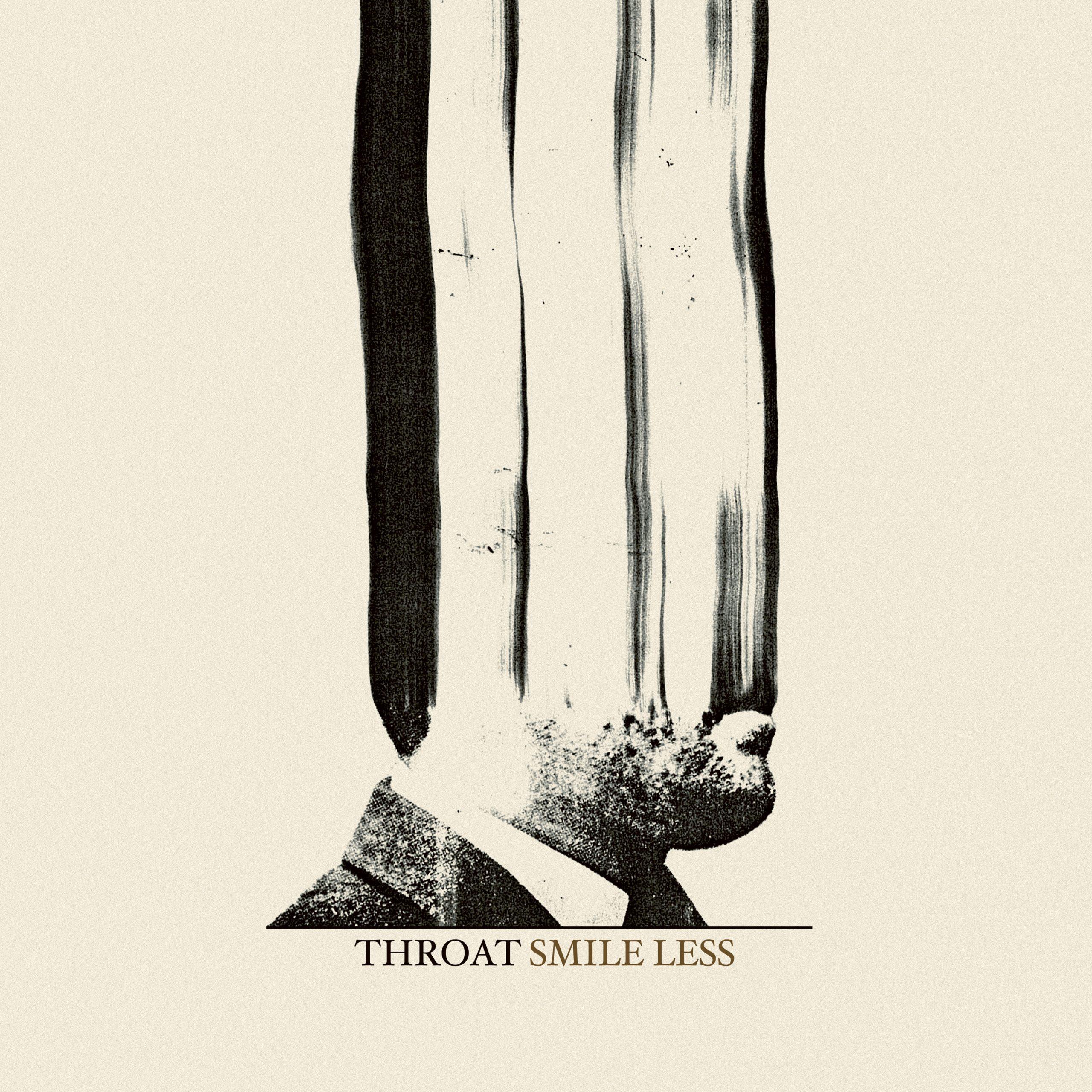 Throat Smile Less Album Cover Artwork