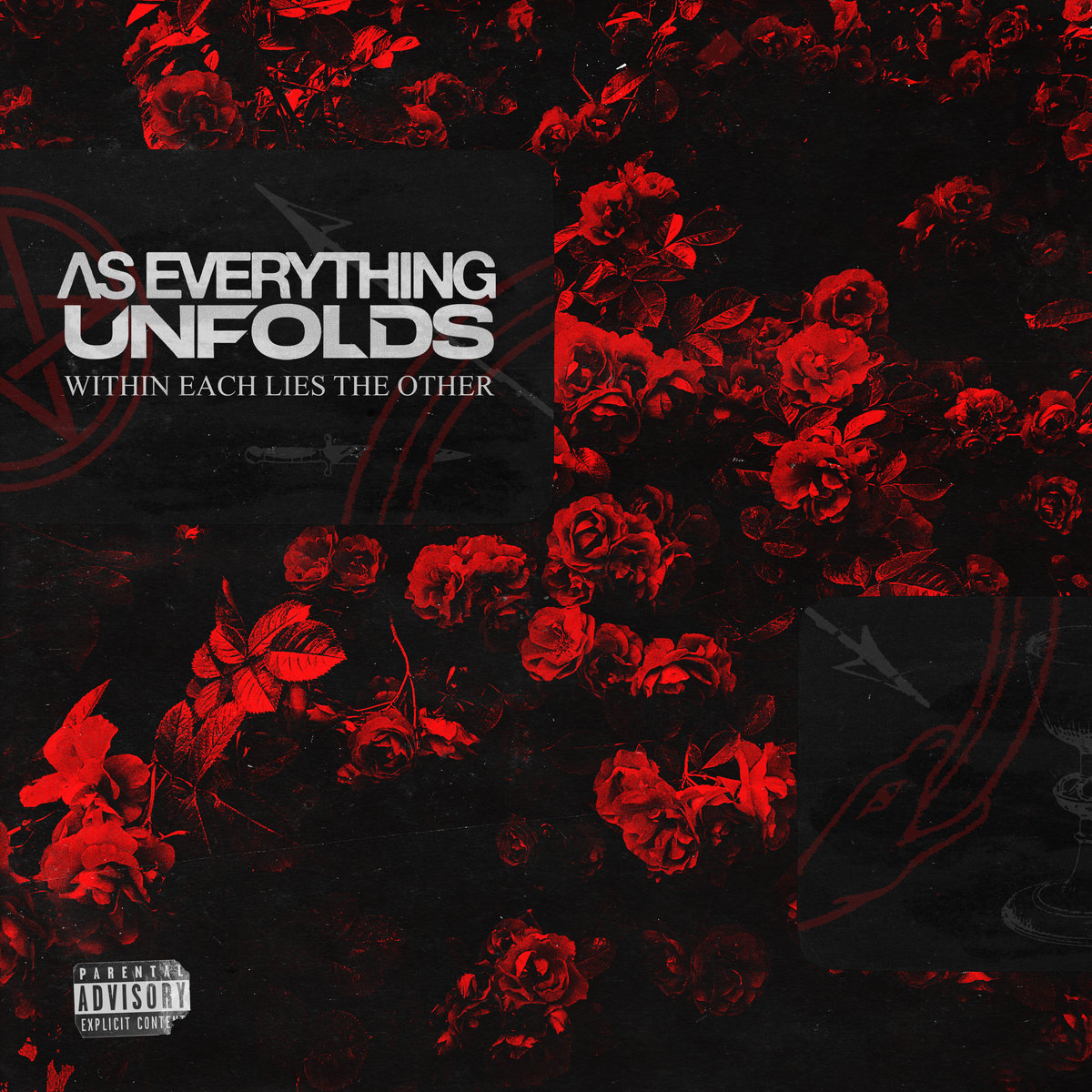 Within Each Lies The Other As Everything Unfolds Album Cover Artwork