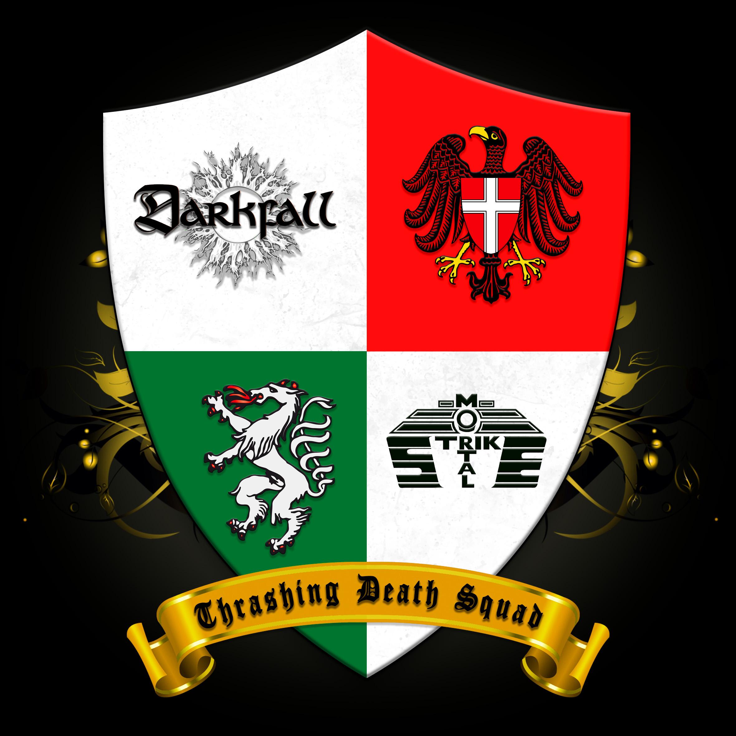 Cover Darkfall MortalStrike Split