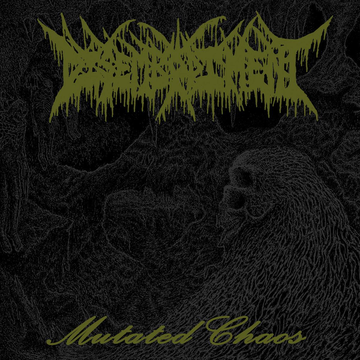 Disembodiment Mutated Chaos Album Cover Artwork