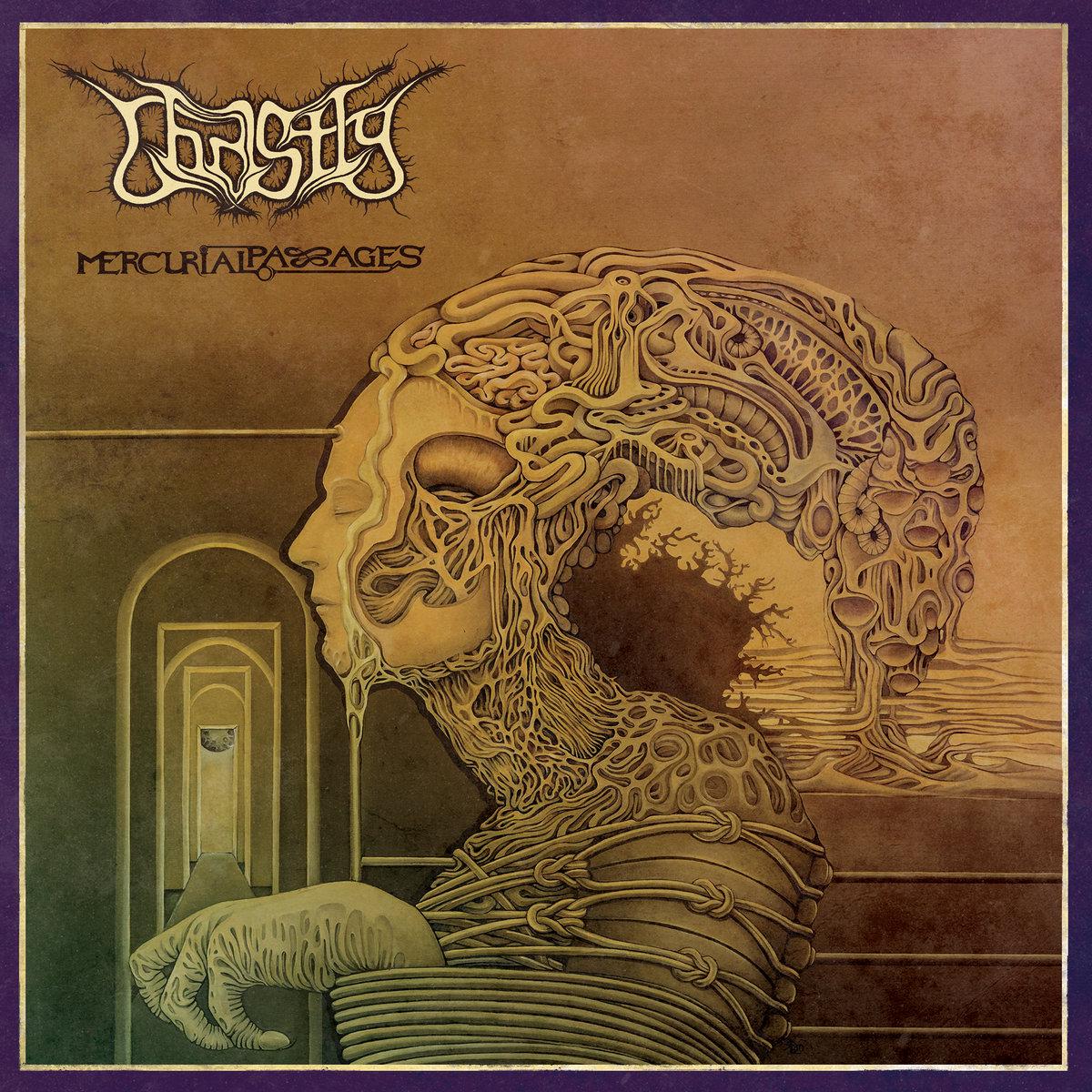 Ghastly Mercurial Passages Album Cover Artwork