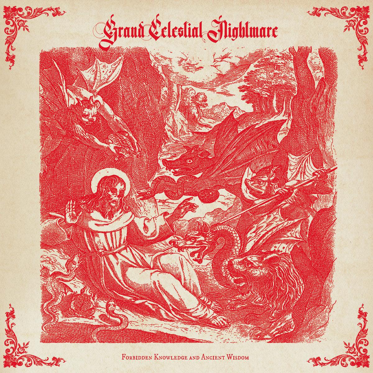 Grand Celestial Nightmare Forbidden Knowledge and Ancient Wisdom Album Cover Artwork