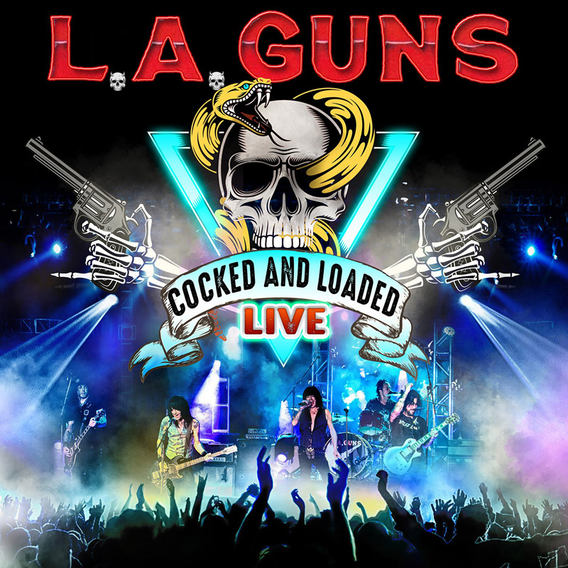 L.A. Guns cocked and loaded live
