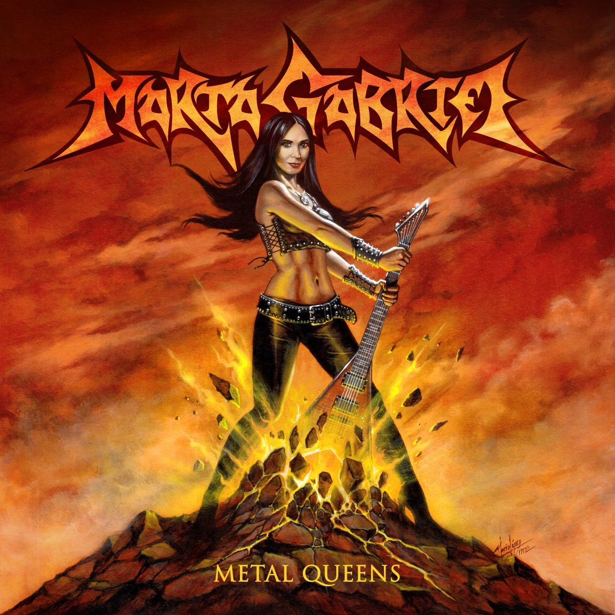 Marta Gabriel Metal Queens Album Cover Artwork