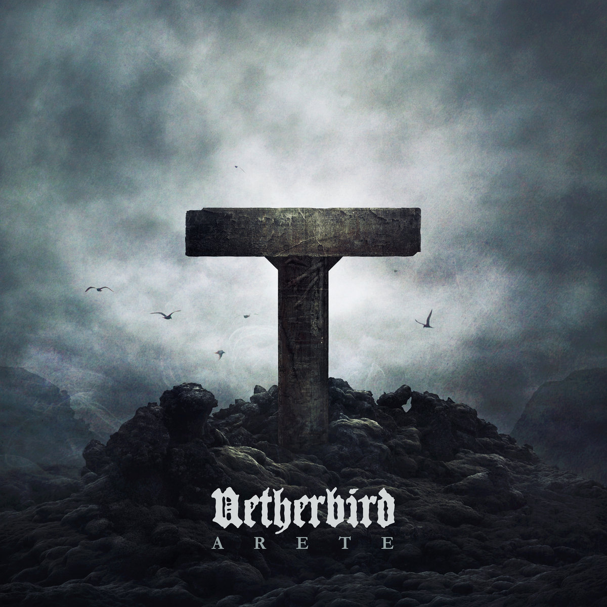 NETHERBIRD Arete Album Cover Artwork