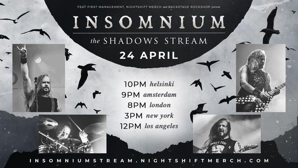 insomnium the shadows stream