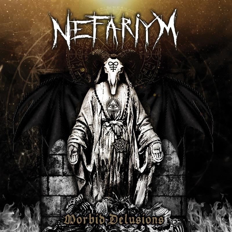 Nefariym Morbid Delusions Album Cover