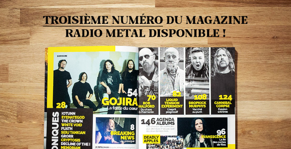 LE MAGAZINE RADIO METAL NUMERO 3 EST DISPONIBLE !