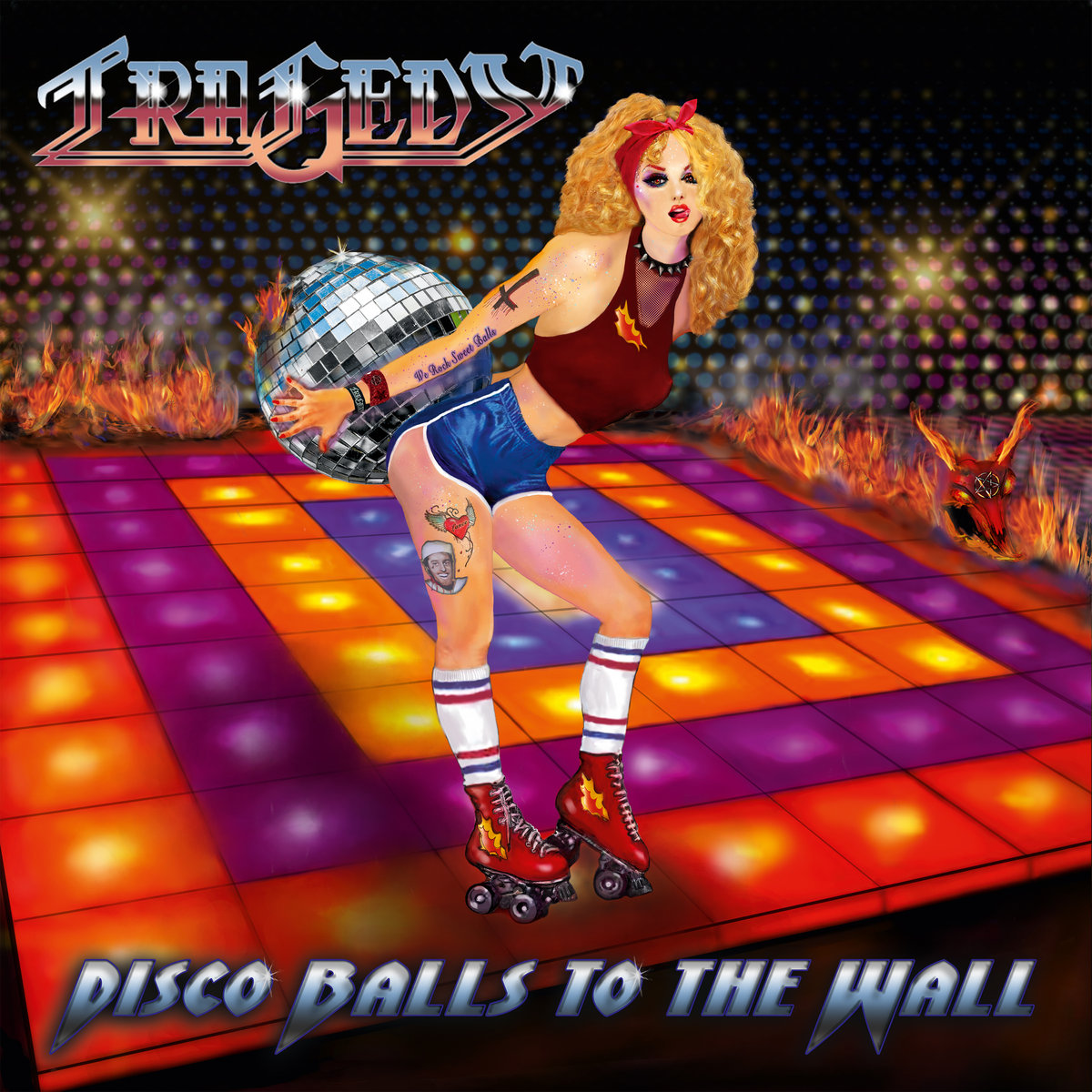 tragedy disco balls to the wall