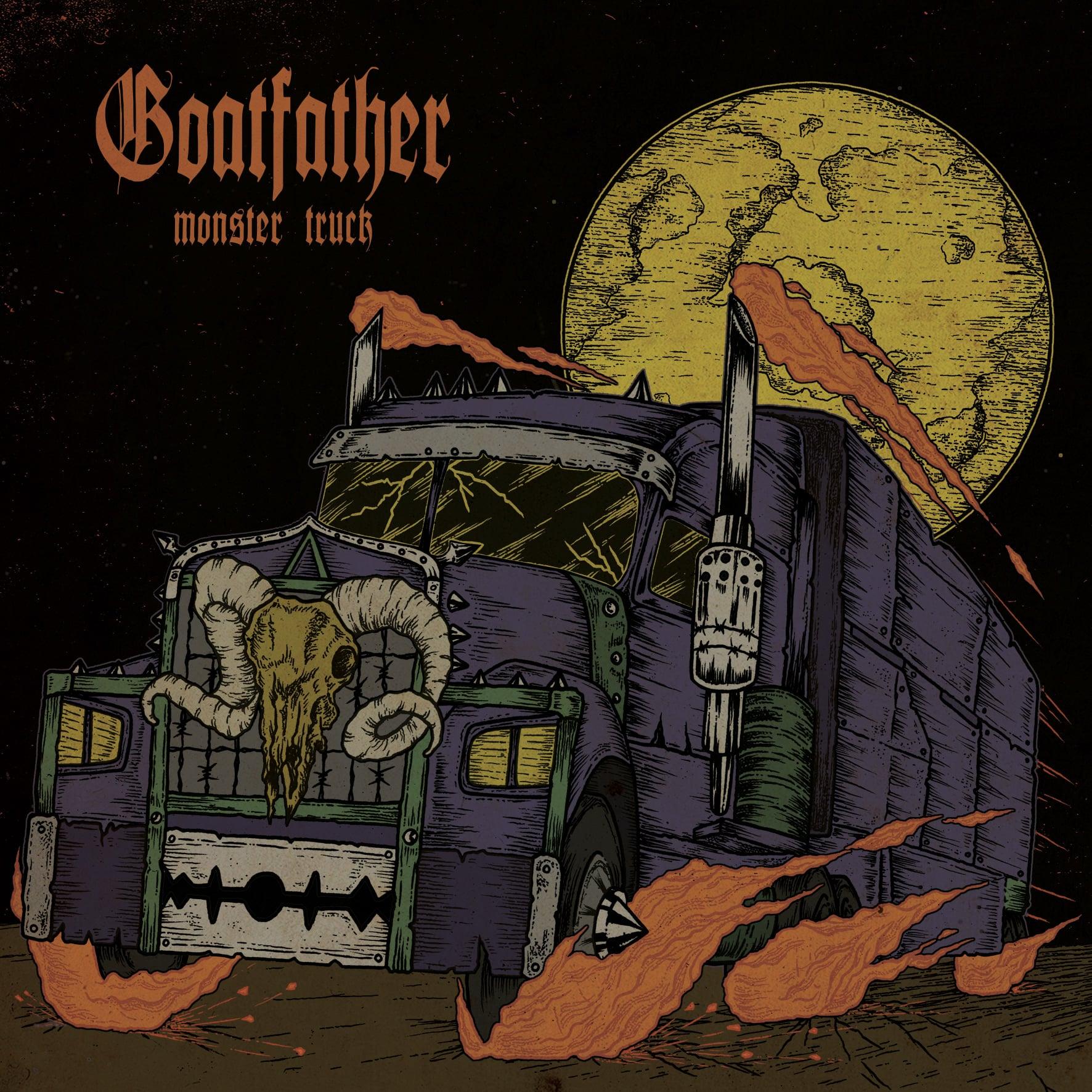 GOATFATHER Monster Truck Album Cover Artwork