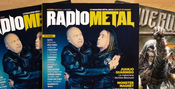LE MAGAZINE RADIO METAL NUMERO 4 EST DISPONIBLE !