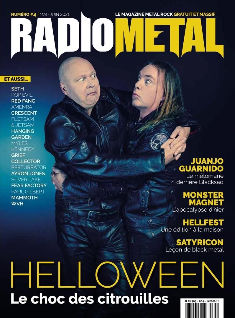 magazine radio metal 4 helloween