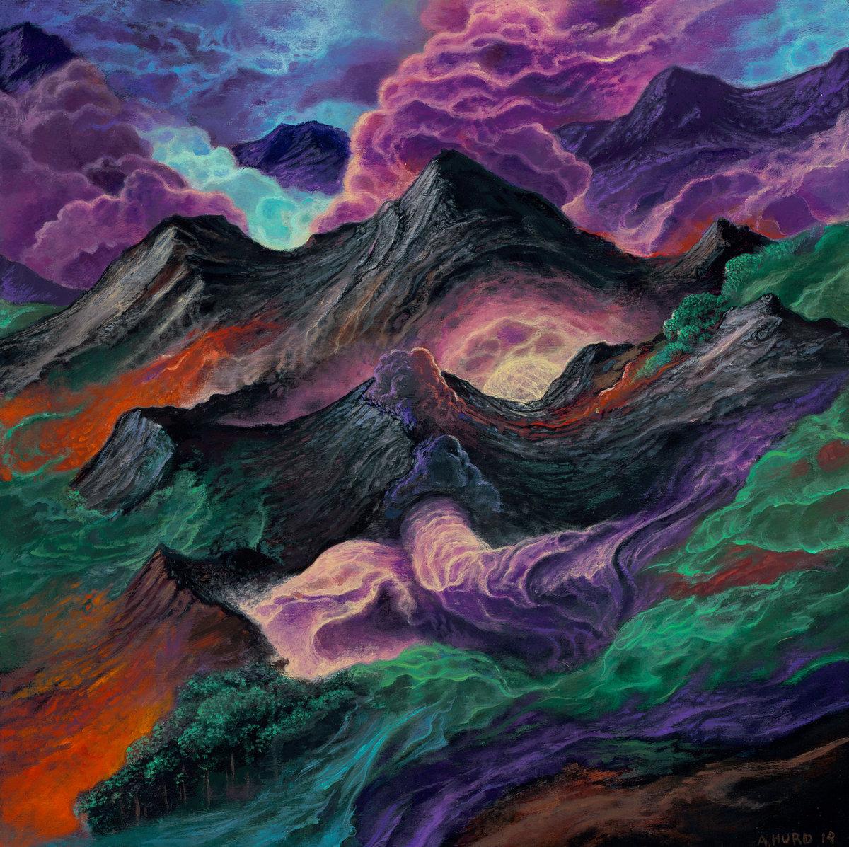 NOLTEM illusions in the wake album cover artwork