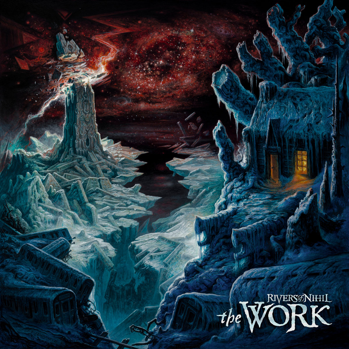 rivers of nihil the work