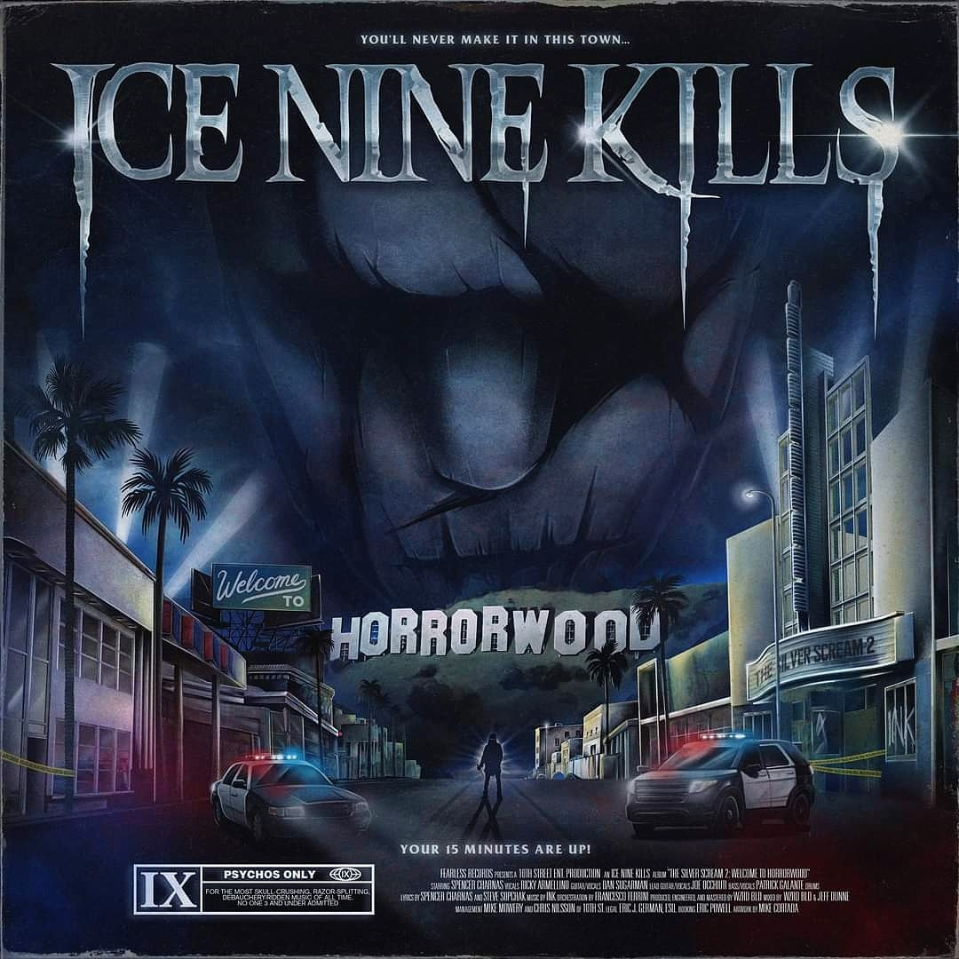 The Silver Scream 2: Welcome To Horrorwood ice nine kills