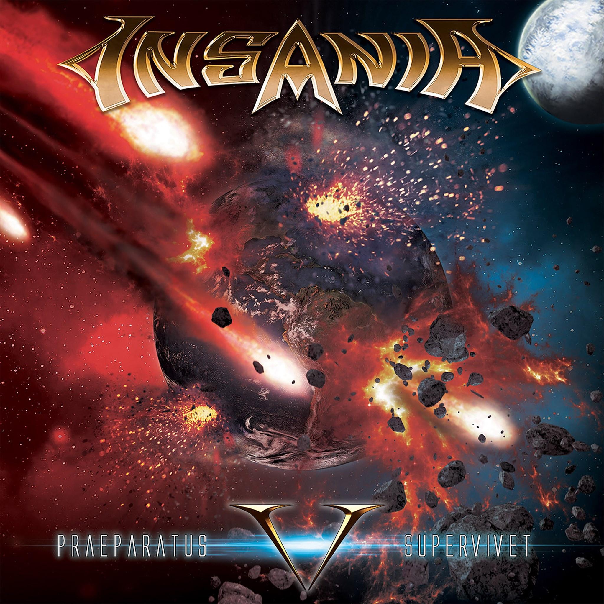 INSANIA V Praeparatus Supervivet album cover artwork